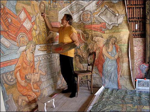 peinture de toile